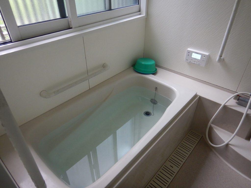 エコキュートのお風呂の工事