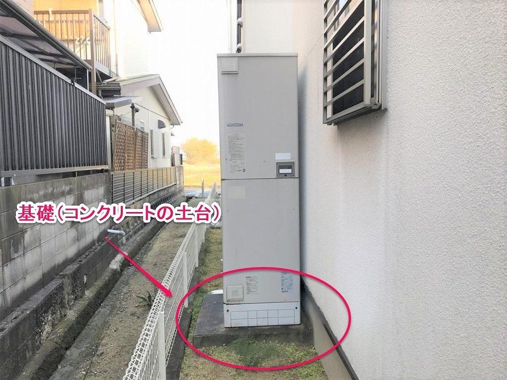 電気温水器に基礎の説明