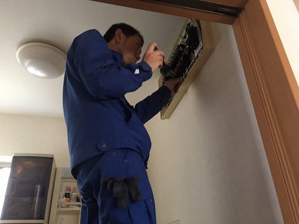 電気工事の確認